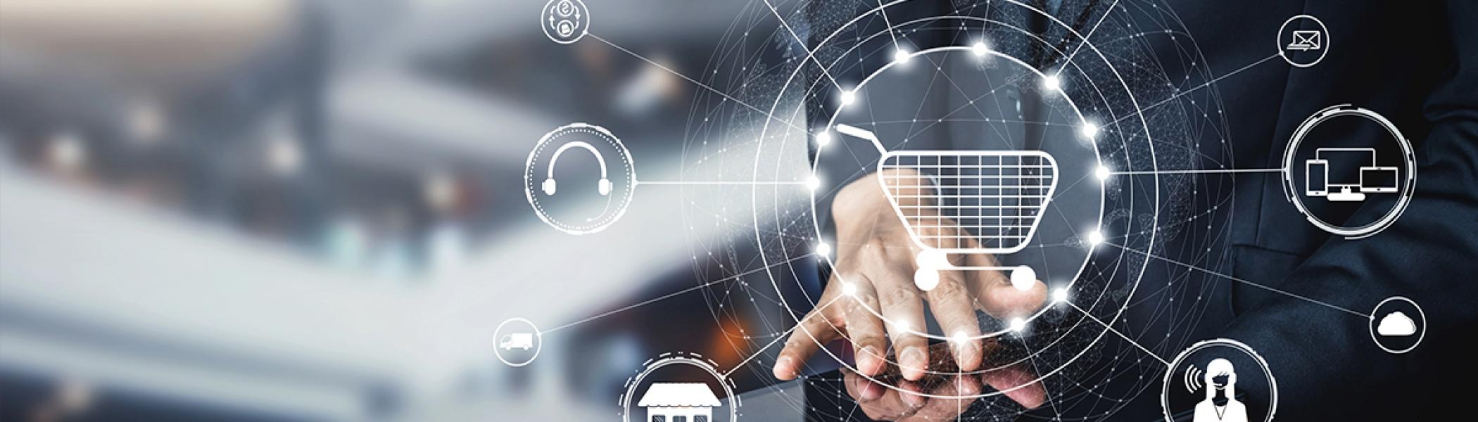 電子商務、運輸及倉儲業